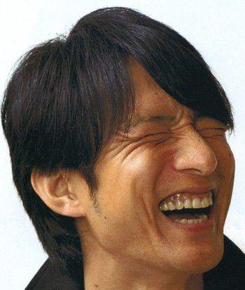 桜井和寿さんの笑顔の写真
