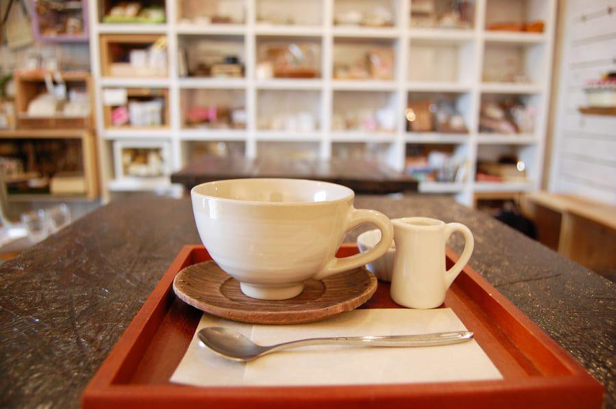 カフェ巡りに最適な、雰囲気の良いカフェの写真