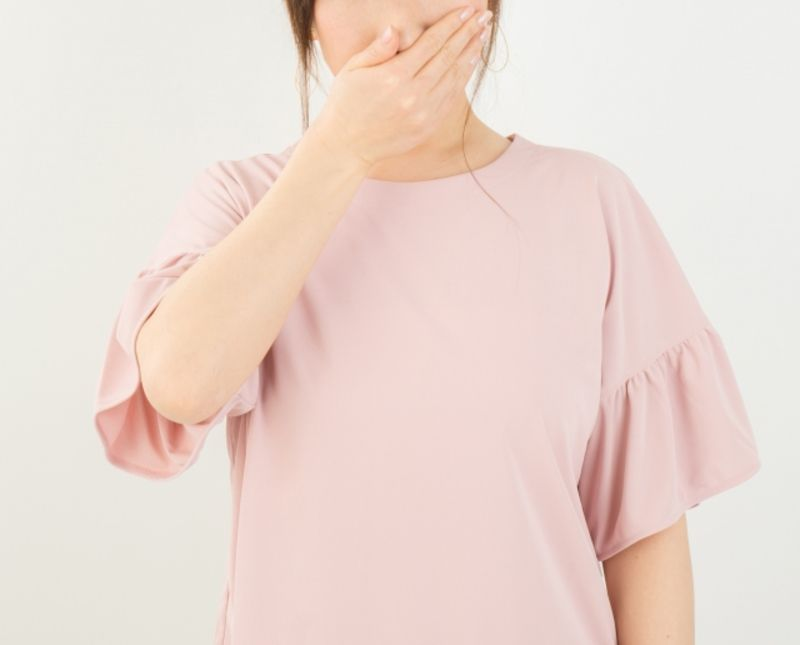 Omiai(オミアイ)で出会った女性に臭いと思われているときの画像