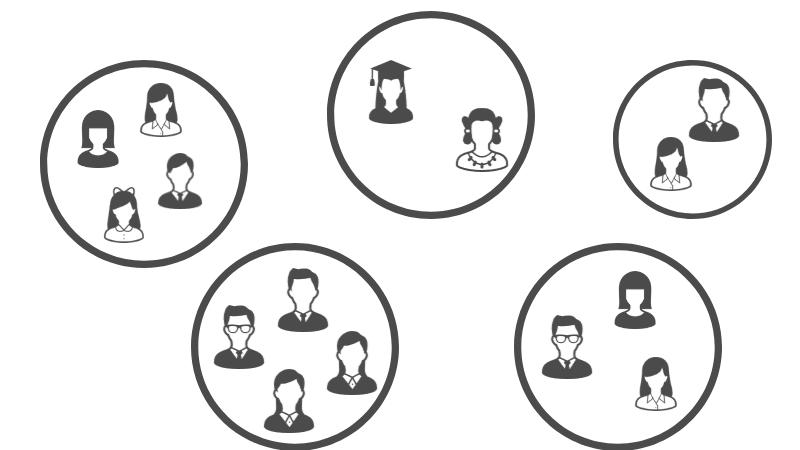 マッチングアプリのPairs(ペアーズ)でコミュニティが多いことを表すイメージ画像