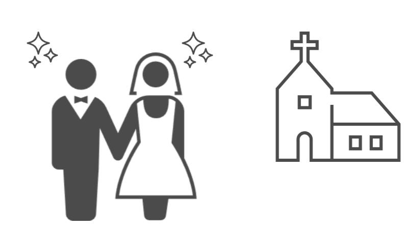 マッチングアプリOmiaiで知り合って結婚したカップルのイメージ画像
