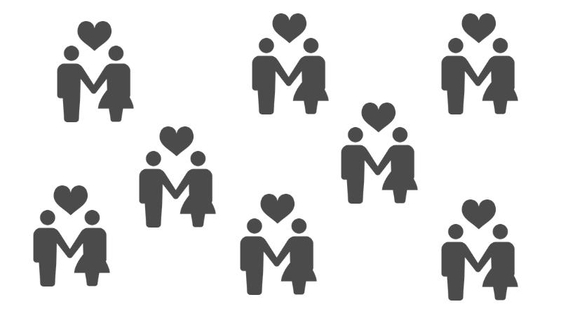 マッチングアプリのPairs(ペアーズ)でかなり出会いやすいというイメージ画像